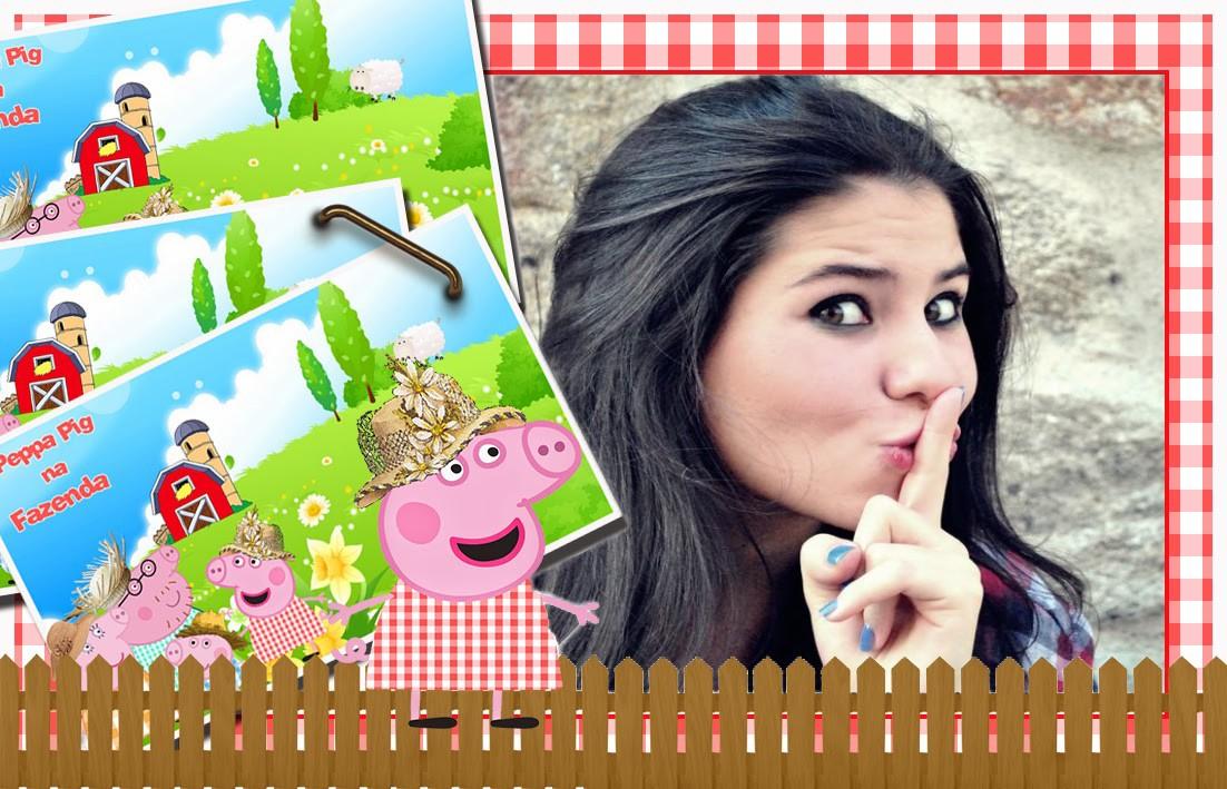 montagem-de-foto-gratis-peppa-pig-na-fazenda