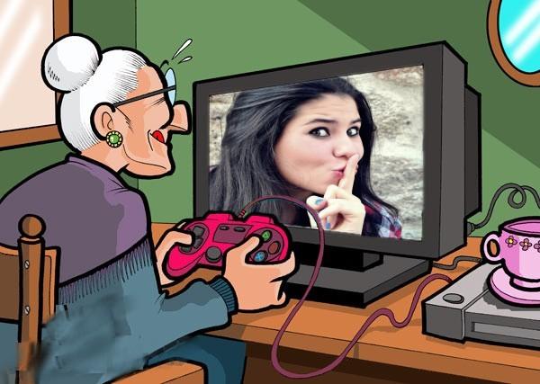 vovozinha-moderna-com-videogame