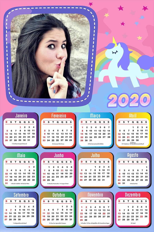 moldura-infantil-com-foto-calendario-2020-unicornio-rosa
