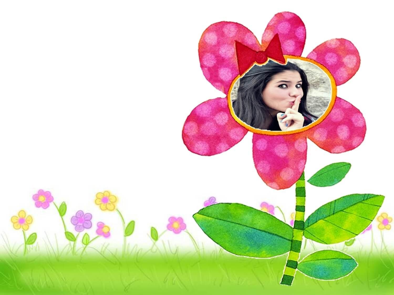moldura-de-foto-com-florzinha-charmosa