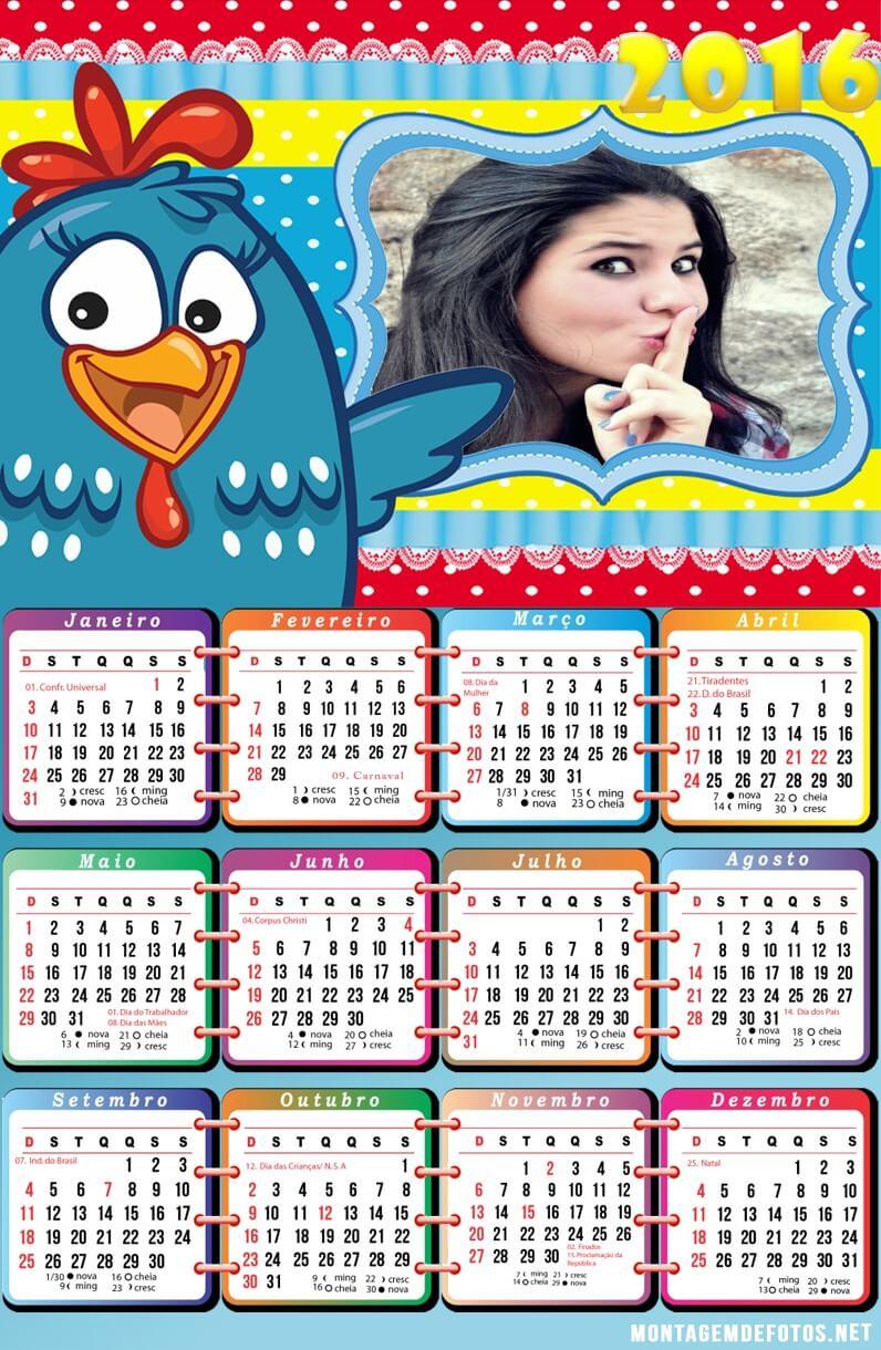 moldura-digital-de-calendario-galinha-pintadinha-2016