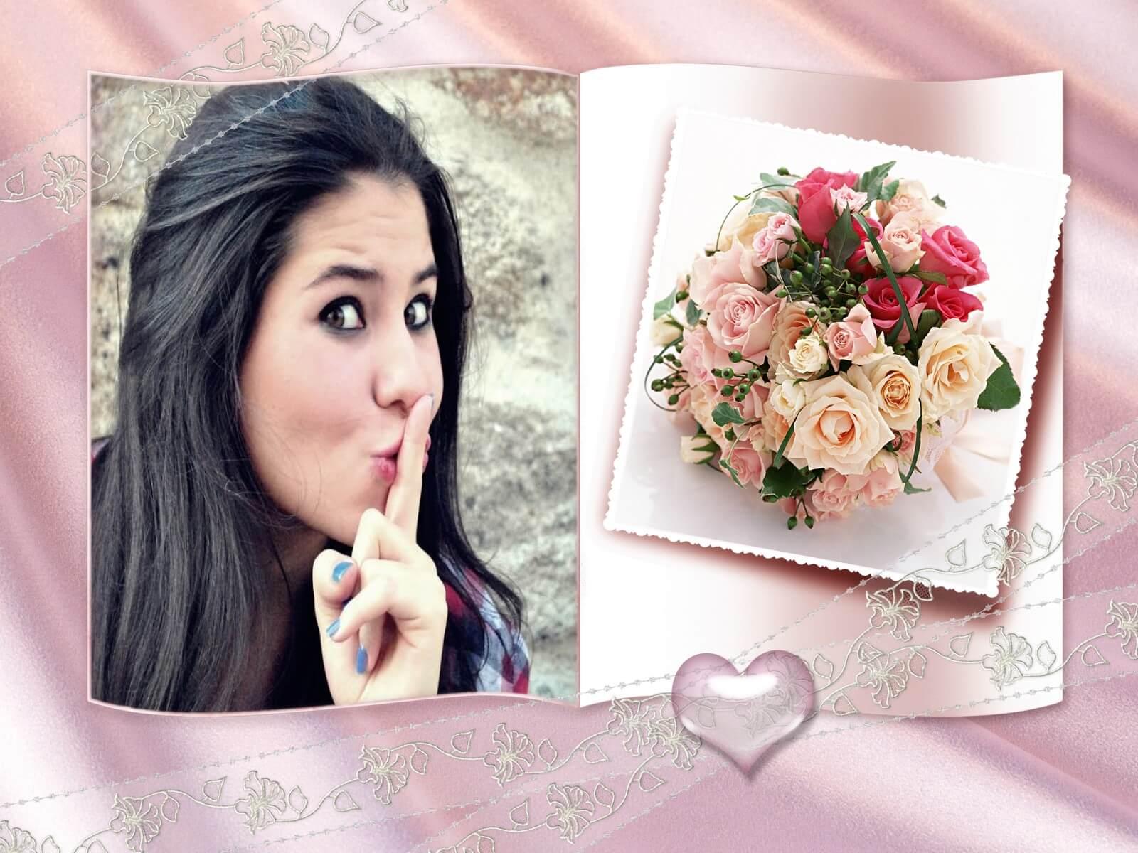 montagem de fotos casamento moldura para convite de casamento