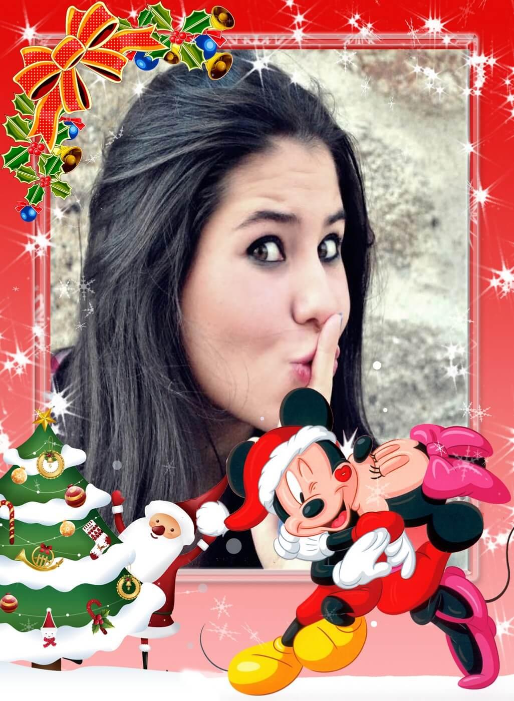 molduras-para-fotos-natal-com-mickey-e-minnie