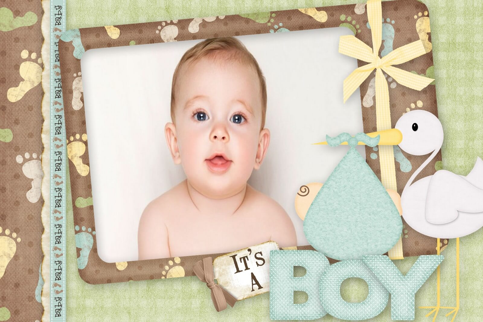 Медной, открытки для новорожденных фотошоп
