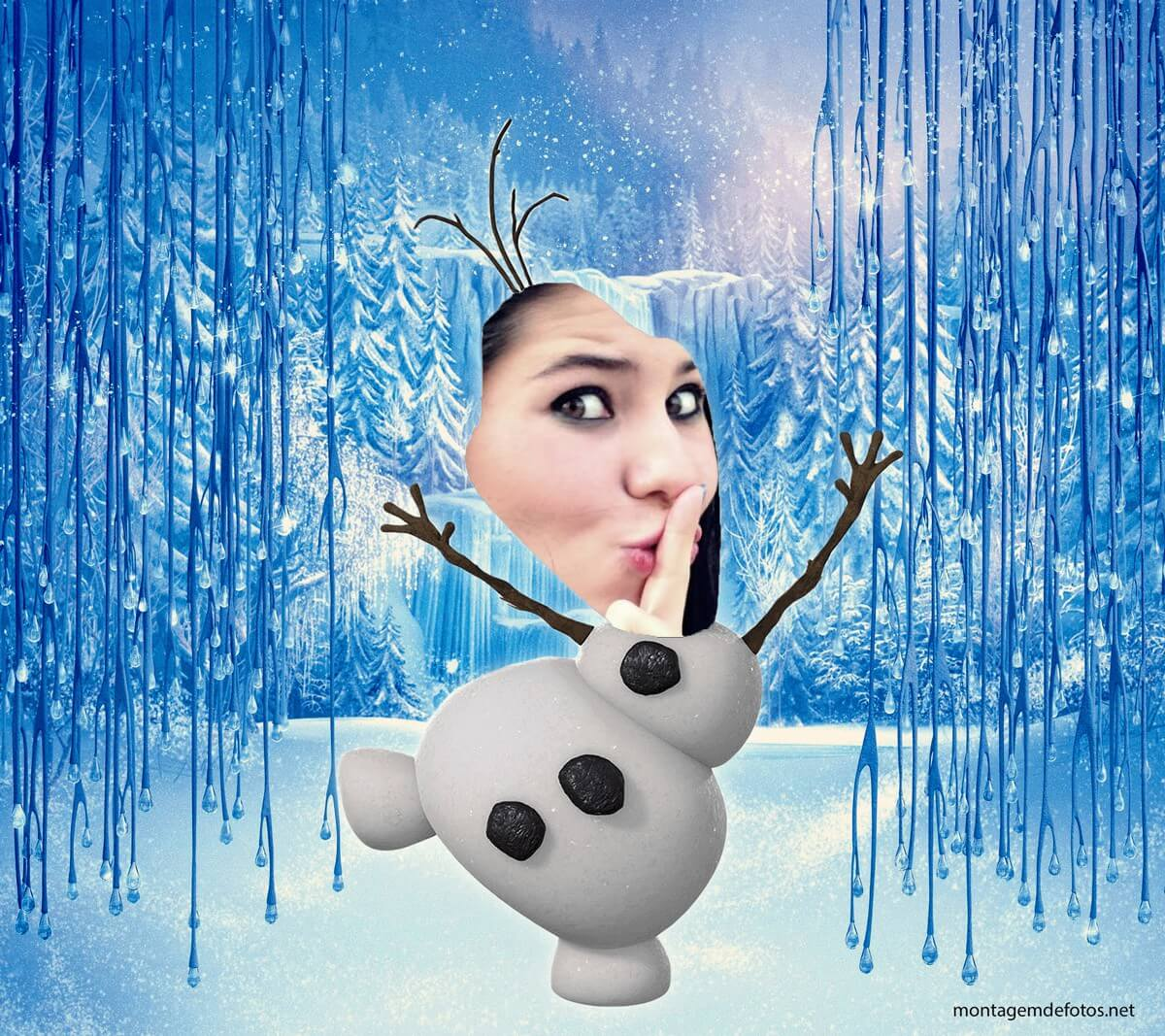face-in-hole-no-rosto-do-olaf-do-frozen