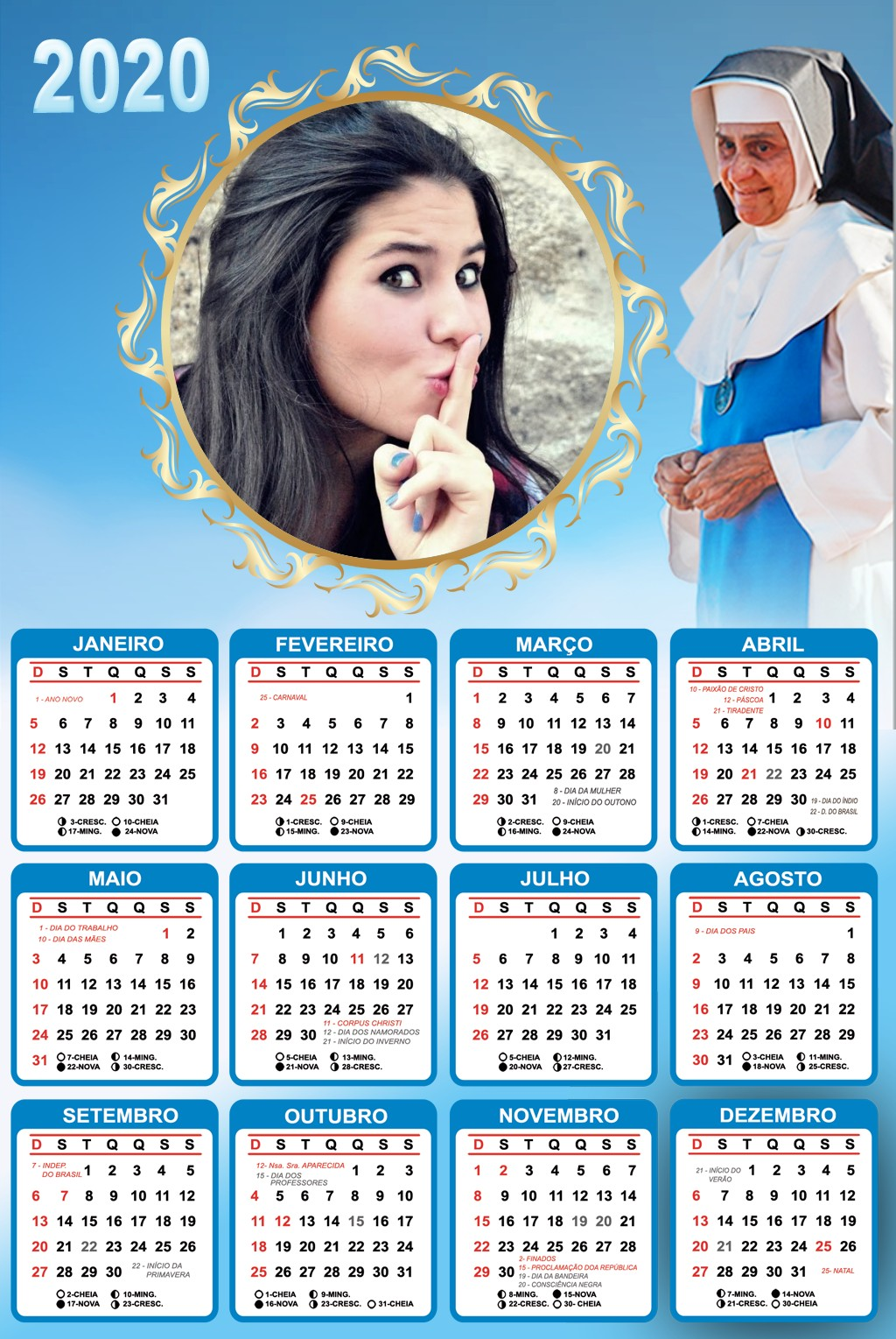 calendario-2020-irma-dulce