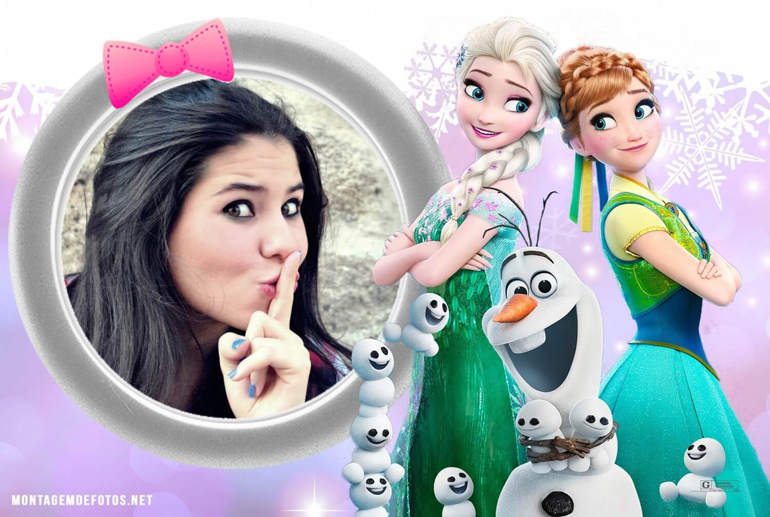 fotomontagem-infantil-do-frozen