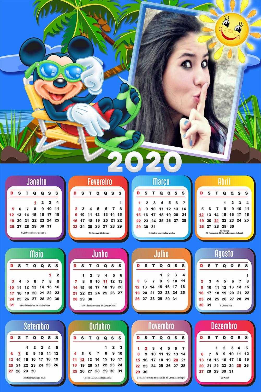 calendario-para-foto-2020-com-mickey