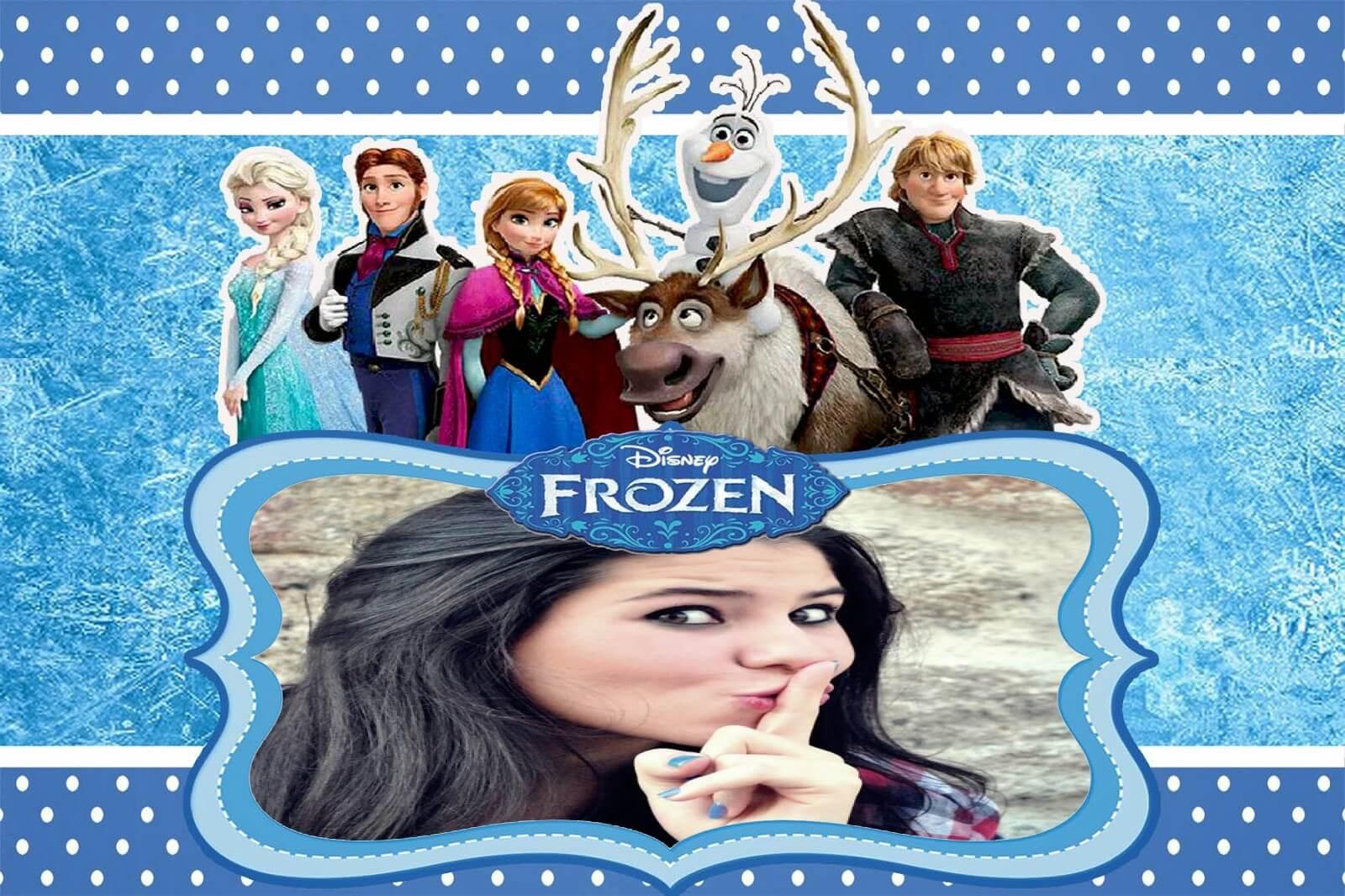 moldura-online-do-filme-frozen