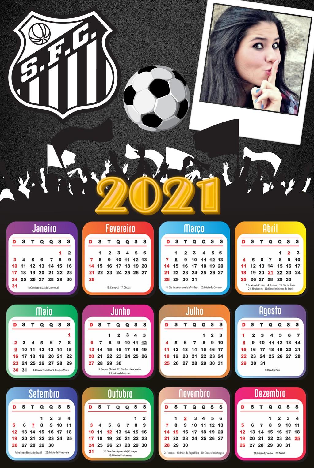 calendario-com-foto-2021-santos-futebol-clube