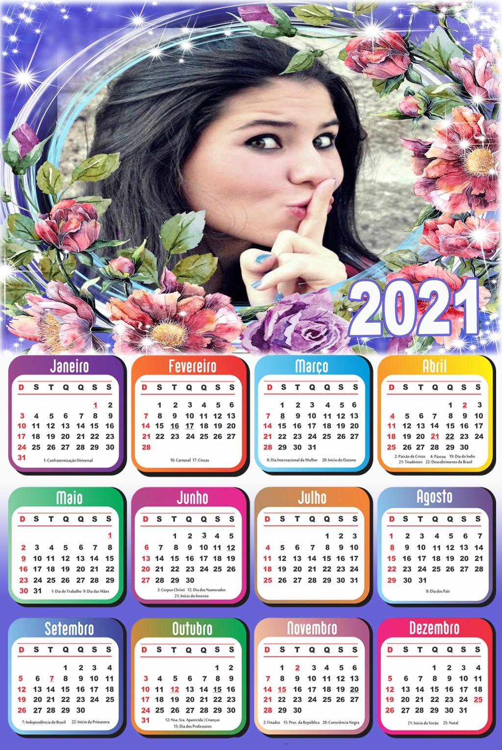calendario-com-foto-2021-floral