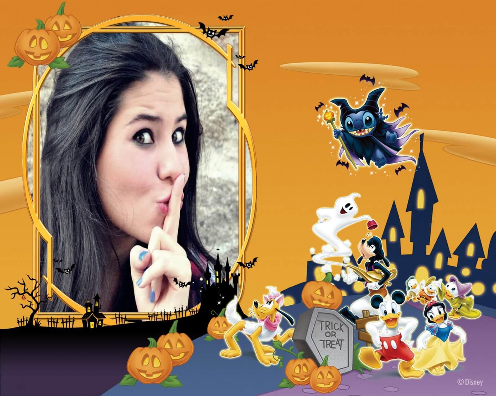 montagem-de-fotos-halloween-disney